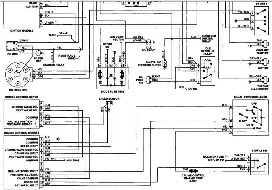 28 1989 Jeep Wrangler Wiring Diagram - Wiring Database 2020
