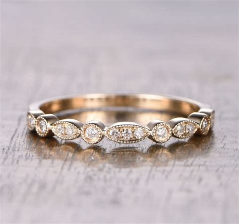 $259 Pave Diamond Wedding Band For Women Half Eternity