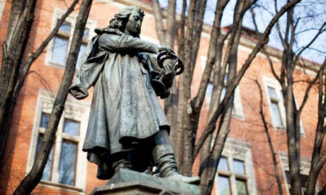 Nicolaus Copernicus statue, Jagiellonian University 21/3/11