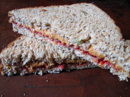 Peanut Butter & Jelly Sandwiches