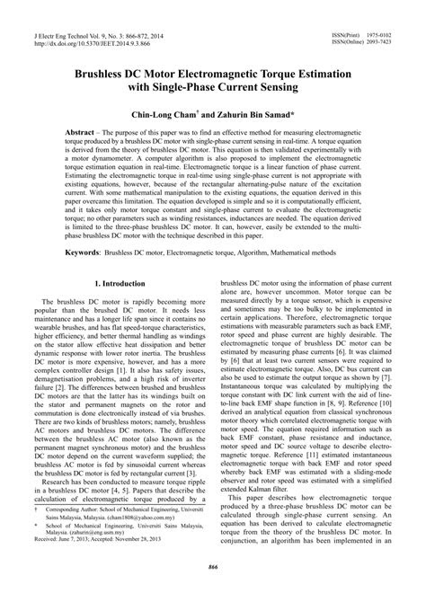 Dc Motor Torque Calculation Formula - Wallpaperzen.org