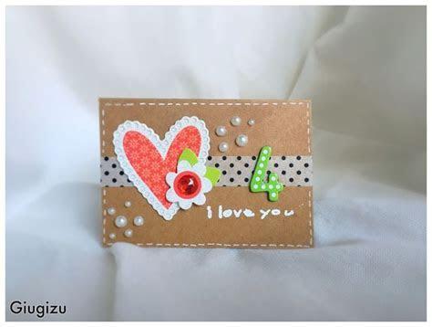 Giugizu's corner: Handmade wedding anniversary card