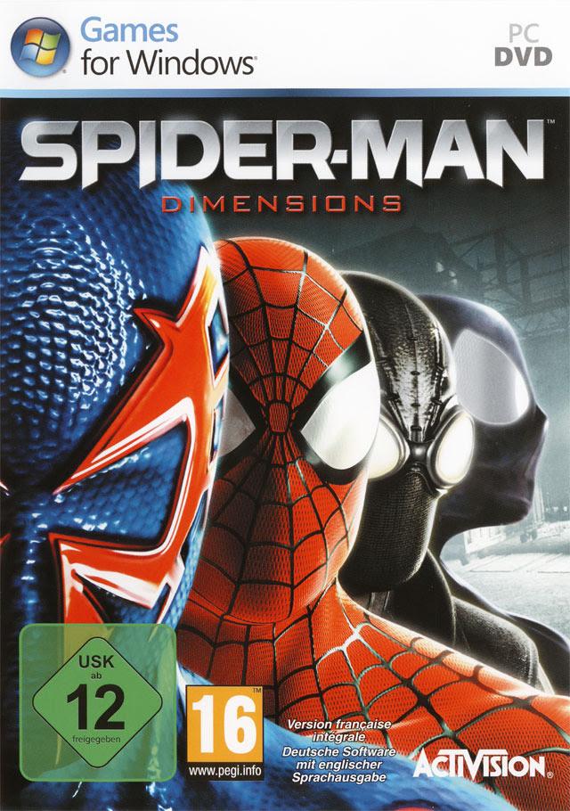 SPIDERMAN SHATTERED DIMENSIONS-RELOADED ~ Skullptura Games