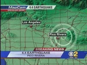 Pico Rivera Residents Feel 4.4 Earthquake