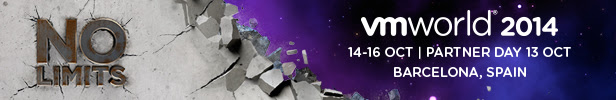 VMworld 2014 Europe, Barcelona, 14-16 October