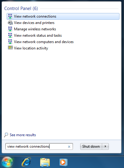 how to connect windows 7 to windows 8 via lan