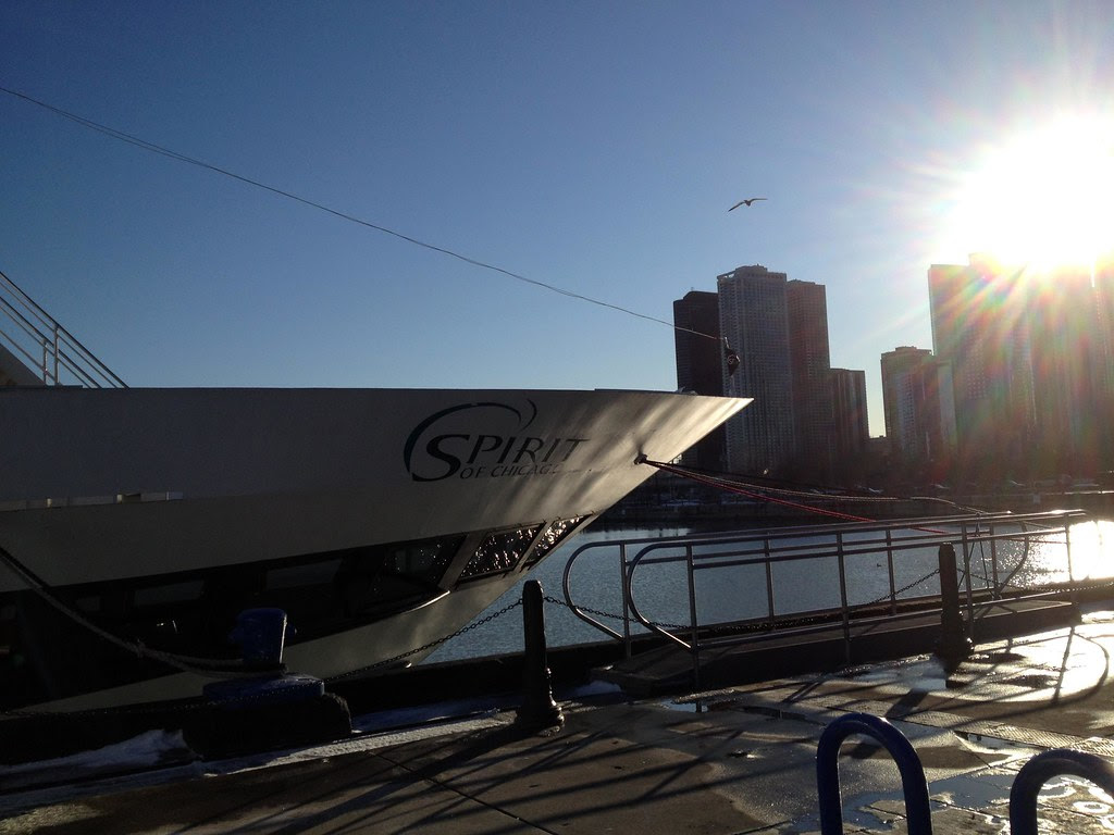 Spirit of Chicago - Navy Pier - Chicago Skyline - Windy City - See Highlights From Around Chicago, Illinois! (via Wading in Big Shoes)