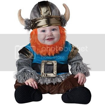 baby boy viking costume