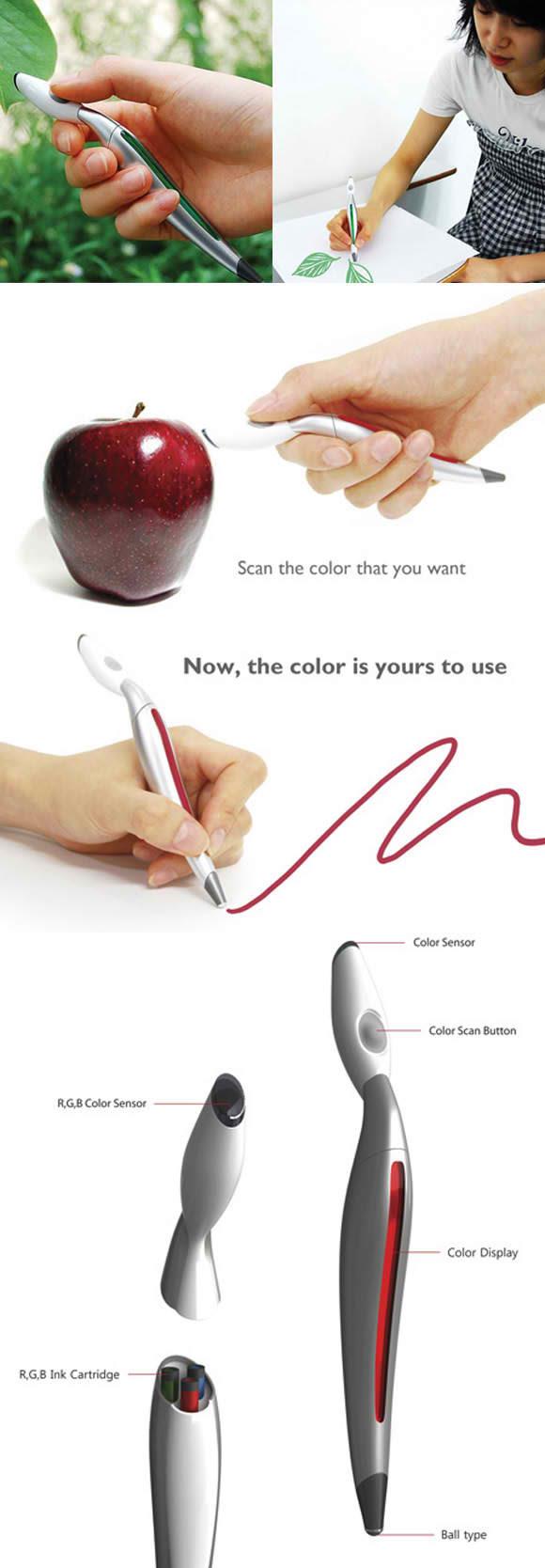 Marcador RGB capaz de pintar cualquier color
