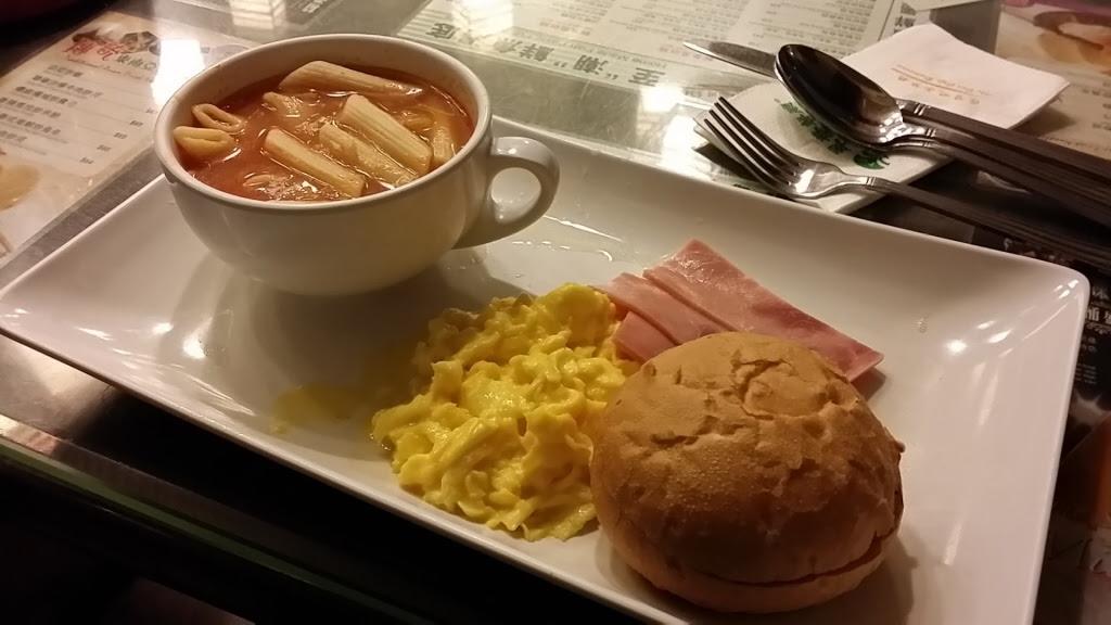 翠華餐庁で朝ごはん