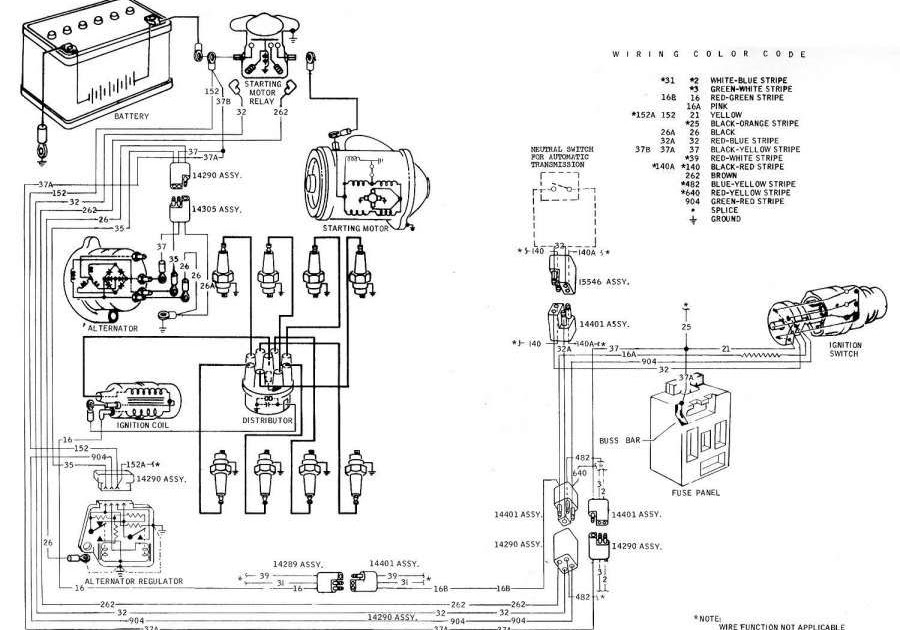 For Ford 302 Fuel Injection Wiring Harnes