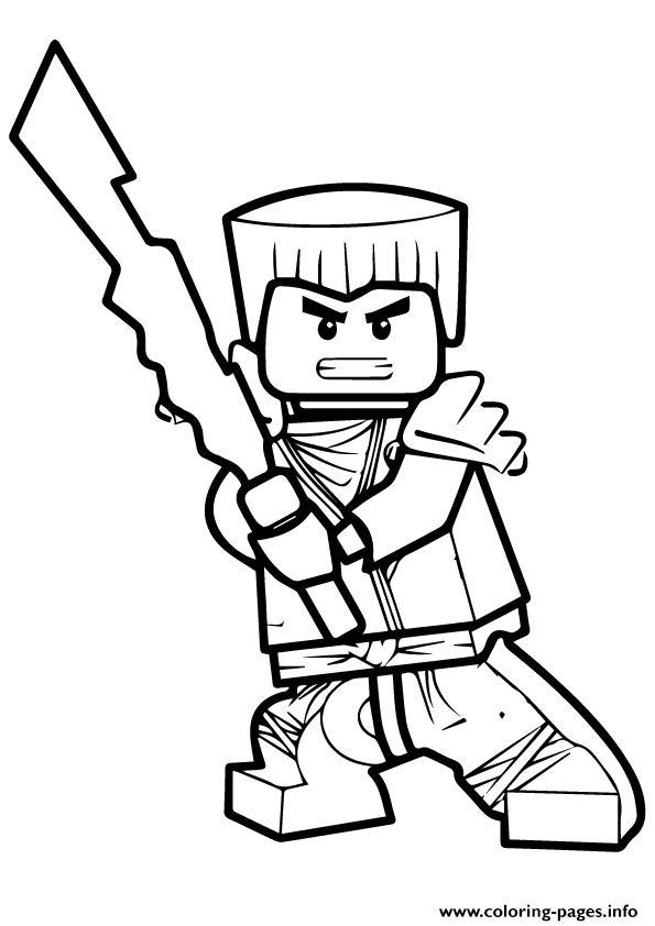 Gambar Mewarnai Ninjago Untuk Anak Paud Dan Tk Auto Electrical
