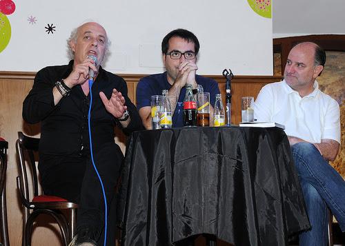 Joan Isaac, Luis García Gil y Javier de Castro. © Fernando Fernández