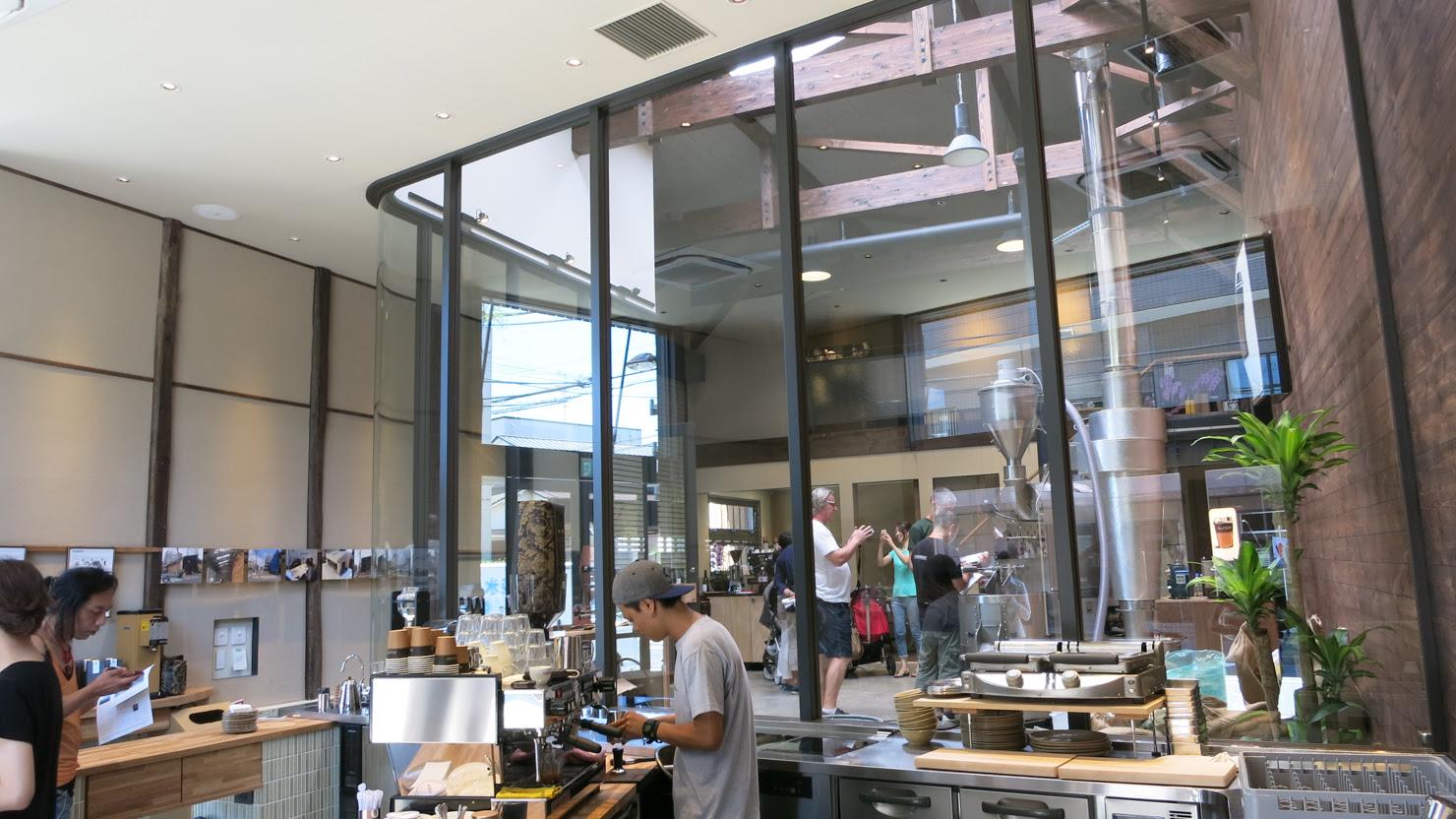 Tokyo Allpress interior