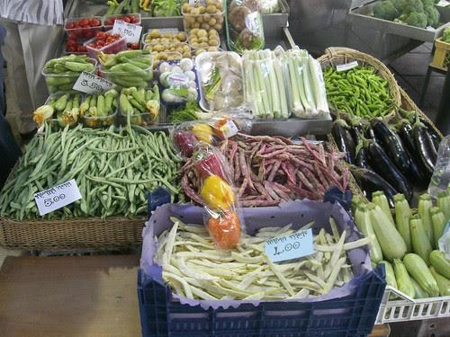 vegetable market thessaloniki