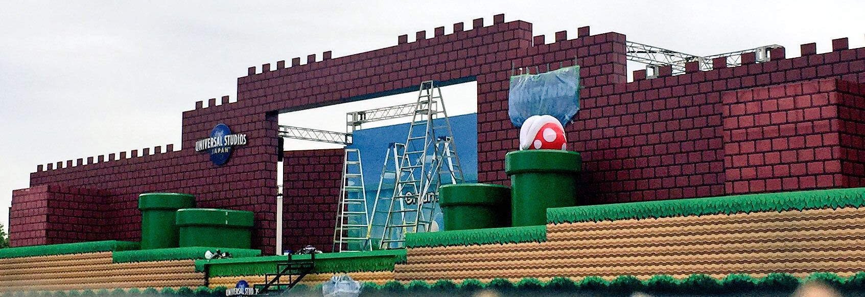 Images of Nintendo World at Universal Studios Japan crop up screenshot