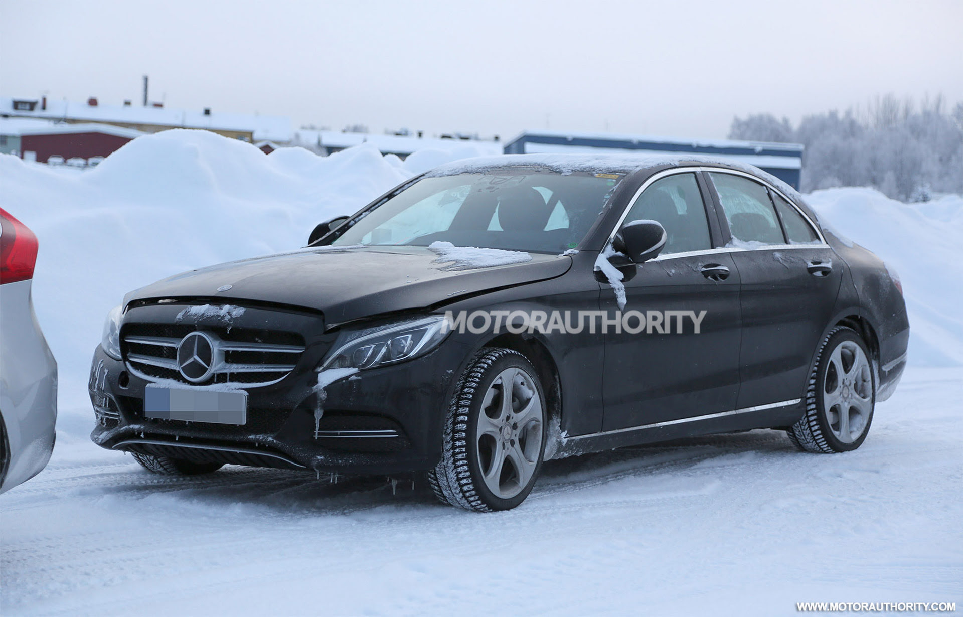 Mercedes-Benz C-Class spied with new tech updates