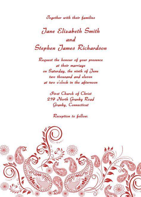 Formal Wedding Invitations: free printable wedding invitations