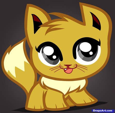 draw  eevee kitty eevee cat step  step anime