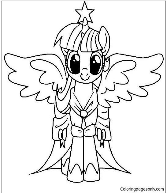 malvorlagen my little pony gratis  ausmalbild