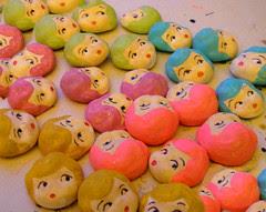 More Rainbow Dollies!