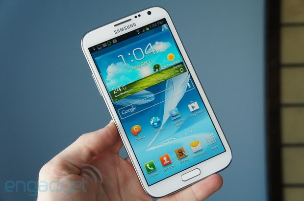 Verizon's Samsung Galaxy Note II starts shipping