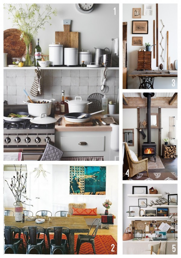 Rustic Fall Inspired Rooms
