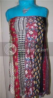 Recycle silk ties