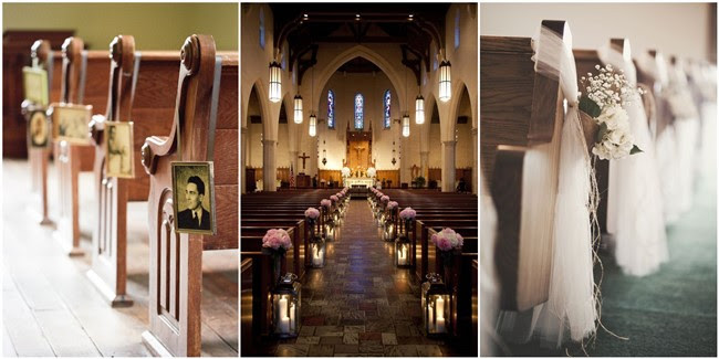 Desain Pernikahan Simple Elegant Church Wedding Decorations