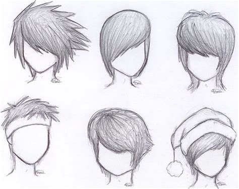 anime hair  hat drawing male google search drawing