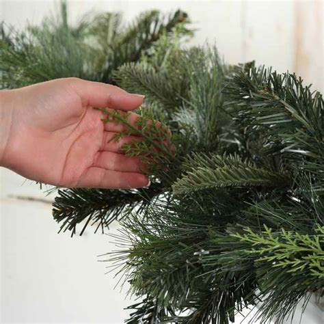 Artificial Mixed Pine Garland   Garlands   Floral Supplies