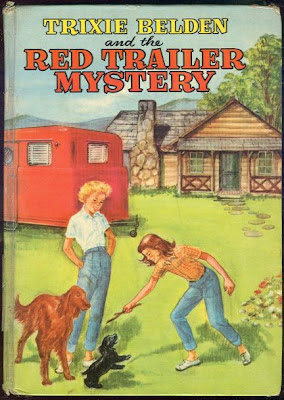Trixie Belden and the Red Trailer Mystery