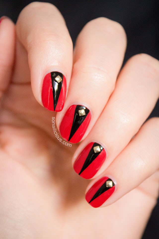Nail Designs In Red