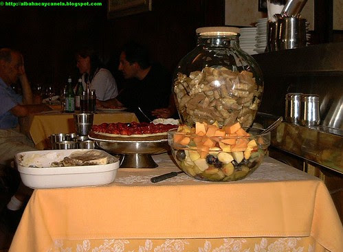 Desserts at Trattoria Alfredo - Florence