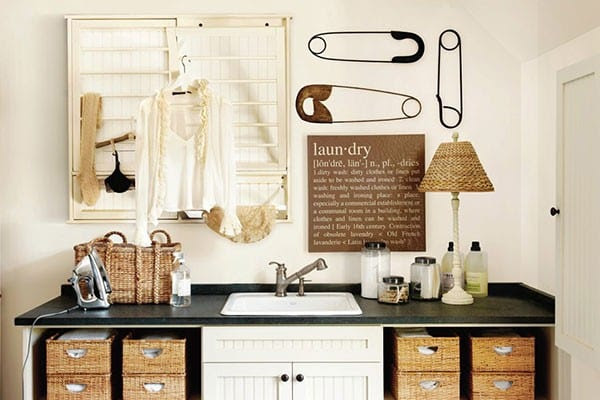 How To Organize Your Laundry Room   How To Decorate