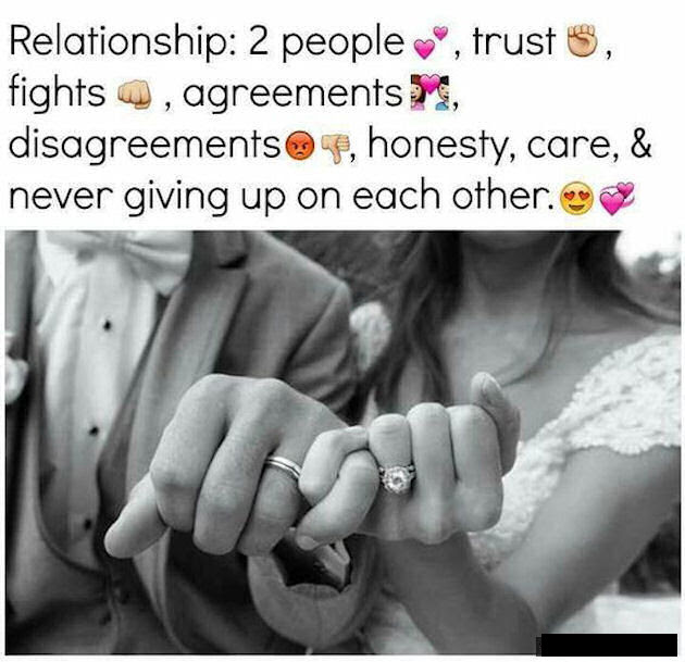 Relationships Are Two People Never Giving Up On Each Other Pictures