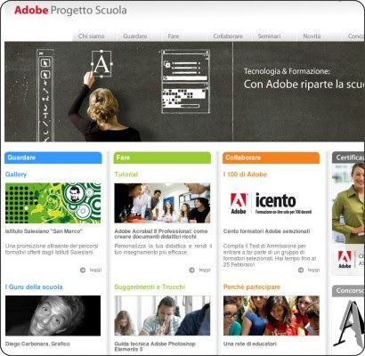 http://www.adobeprogettoscuola.it/adobeps/TMPL_home.jsp?IdDoc=1