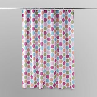 Essential Home Shower Curtain - Polka Dot - Bed & Bath - Shower ...