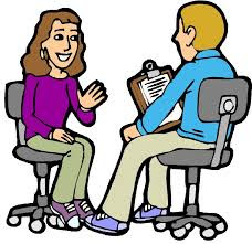 Job interview conversation learning English