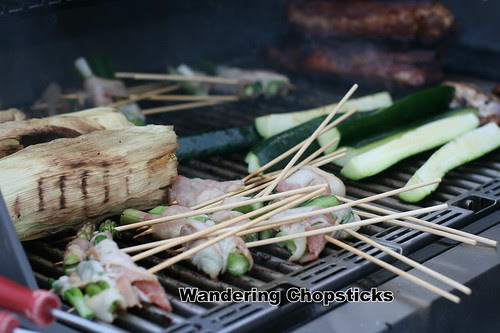 Grilled Asparagus Bacon Skewers 5