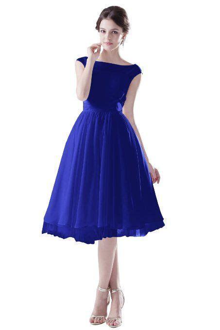 Amazon.com: Dresstells Short Royal Blue Bridesmaid Evening