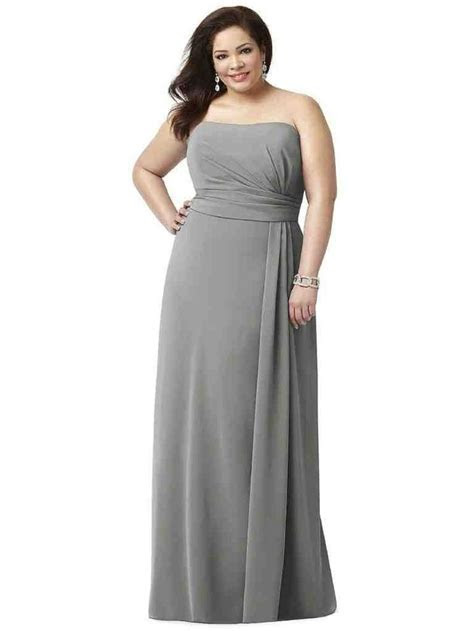 25  best ideas about Grey bridesmaid gowns on Pinterest