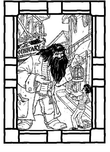 kidsnfun  89 coloring pages of harry potter
