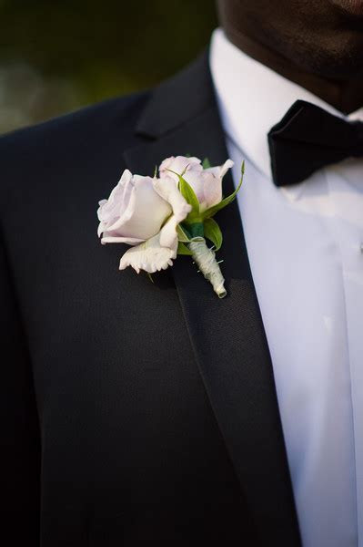 Boutonnieres for the Boys, Wedding Flowers Photos by