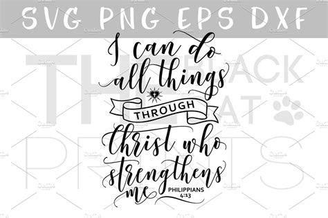 Christian SVG DXF PNG EPS ~ Illustrations ~ Creative Market