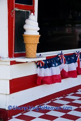 Old-Fashioned Ice Cream Shop, Sac County, Iowa