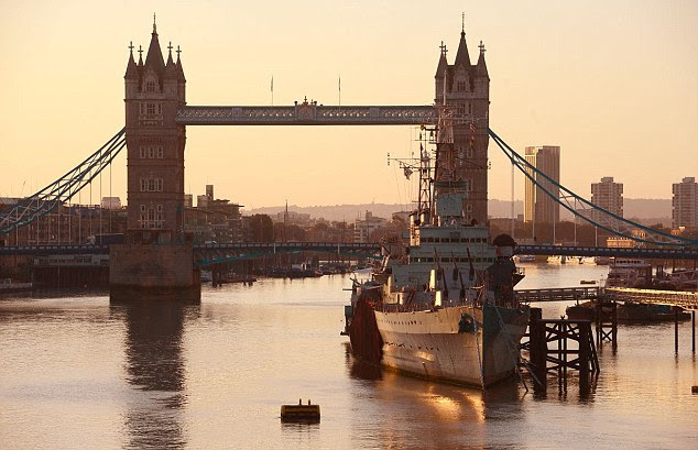 Not too shabby: Britain, with the sights of London to the fore, came a respectable tenth in the survey