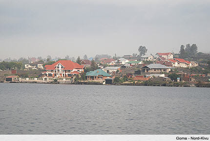 The shoreline in the Democratic Republic of Congo city of Goma in the eastern region. There have been joint military operations between the DRC, Rwanda and Uganda against rebel forces. by Pan-African News Wire File Photos