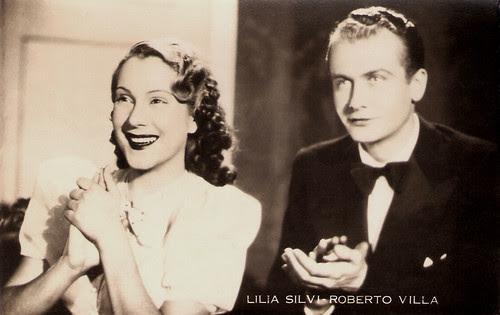 Lilia Silvi, Roberto Villa