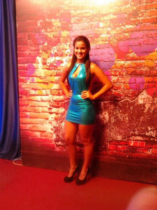 Fernanda Spenhays en el programa Clase A